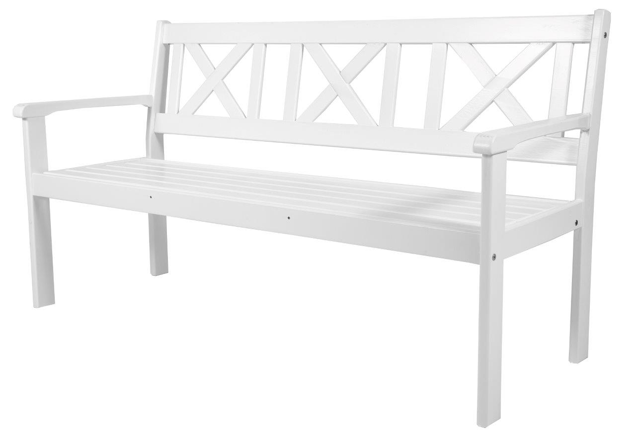 nordische 3 sitzer bank evje wei sitzbank gartenbank holzbank massivholz ebay. Black Bedroom Furniture Sets. Home Design Ideas