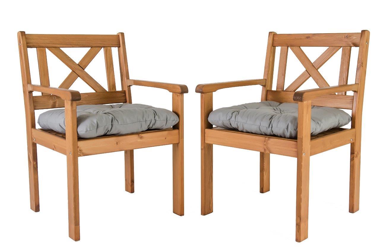 gartenstuhl sessel eve holzm bel gartenm bel landhaus armlehnenstuhl holzsessel ebay. Black Bedroom Furniture Sets. Home Design Ideas