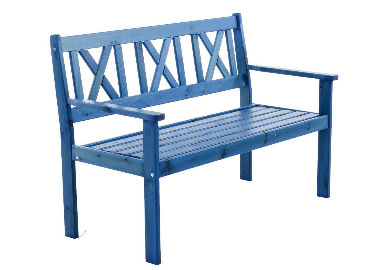 gartenbank bank sitzbank holz 120cm gartenm bel holzbank parkbank inkl auflage ebay. Black Bedroom Furniture Sets. Home Design Ideas