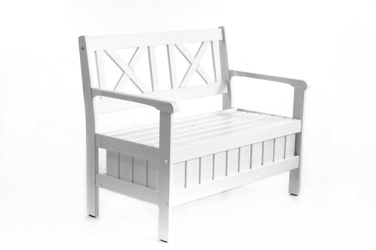 truhenbank sitzbank k chenbank holzbank landhaus shabby chic 108 cm ebay. Black Bedroom Furniture Sets. Home Design Ideas