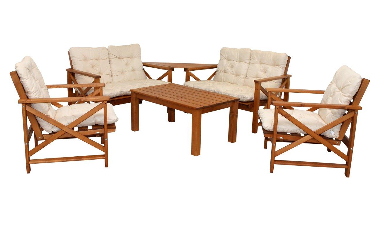 gartenstuhl sessel eve holzm bel gartenm bel landhaus armlehnenstuhl holzsessel. Black Bedroom Furniture Sets. Home Design Ideas